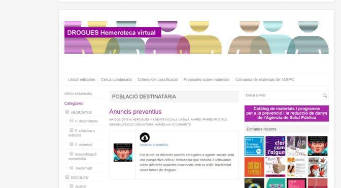 La Resclosa d'Arbúcies a la web del Departament de Salut